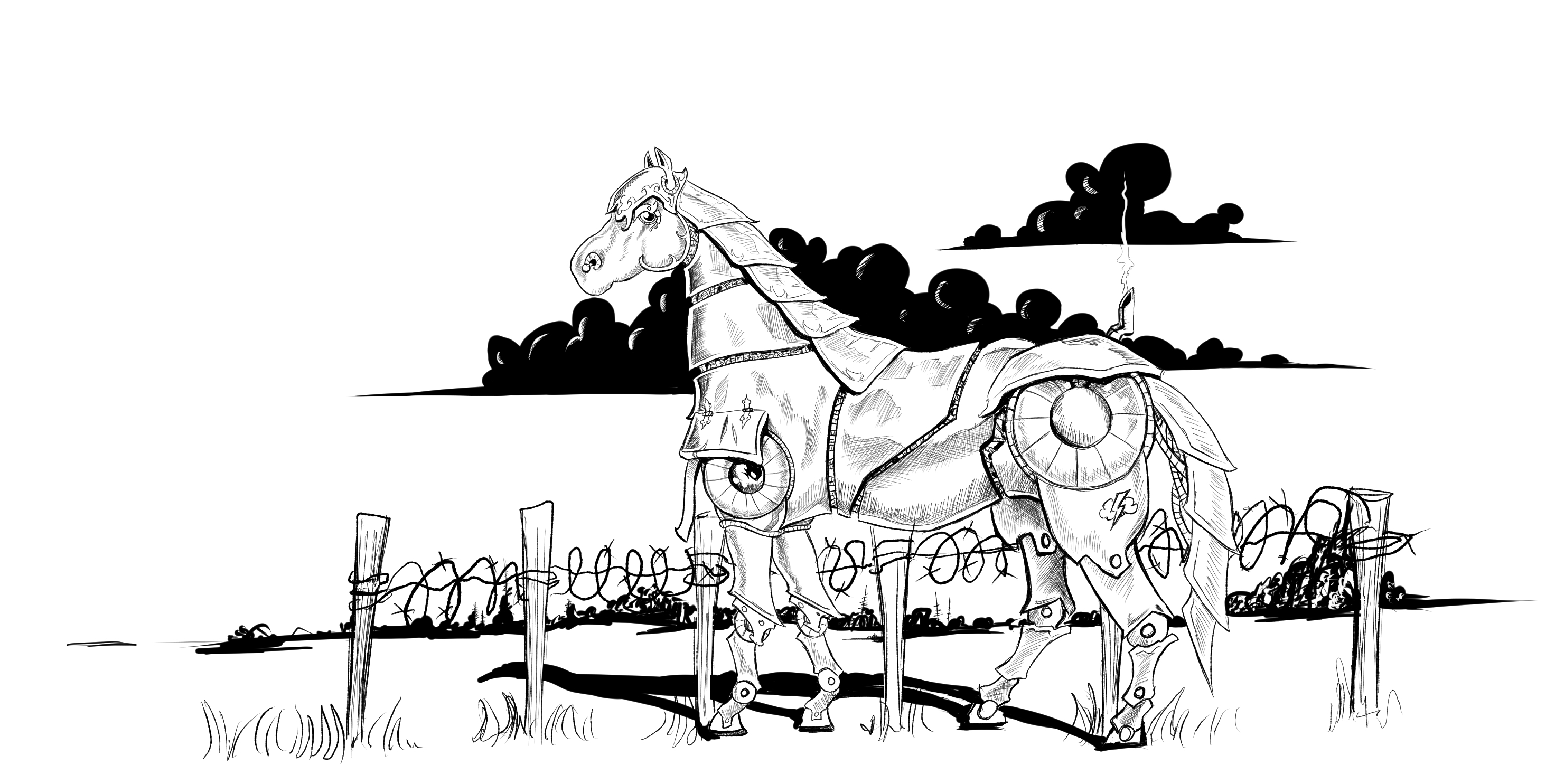 If Wishes Were War Horses